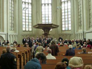 Ineke de Feijter doet intrede in Koorkerk
