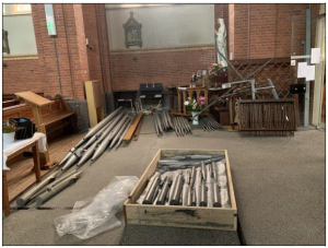 Orgel verhuist van Vlissingen naar Polen