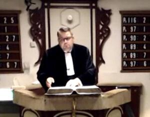 Ds Van den Berg verlaat Sint Philipsland