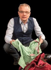 Guido de Bruin brengt Bijbels theater in Oostkapelle