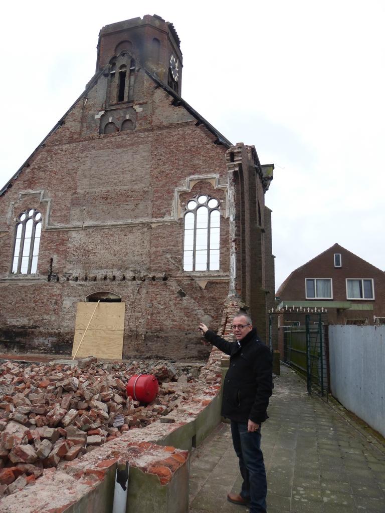 Arie van der Maas kerkbrand Hoek
