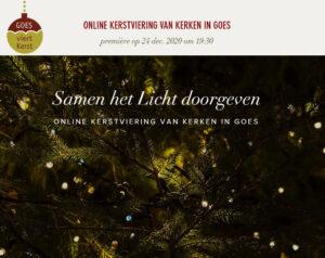 Goese kerken bieden samen unieke online kerstavondviering aan