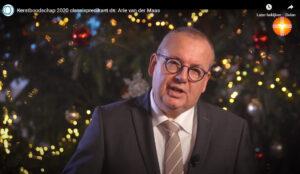Kerstboodschap ds Arie van der Maas