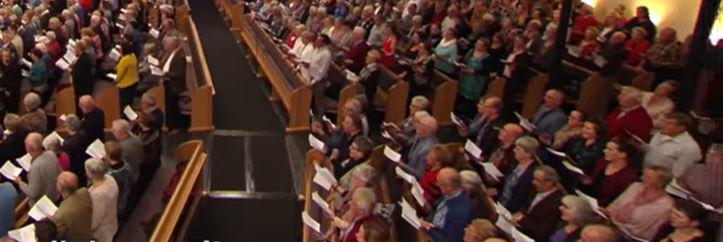 zingen in de kerk